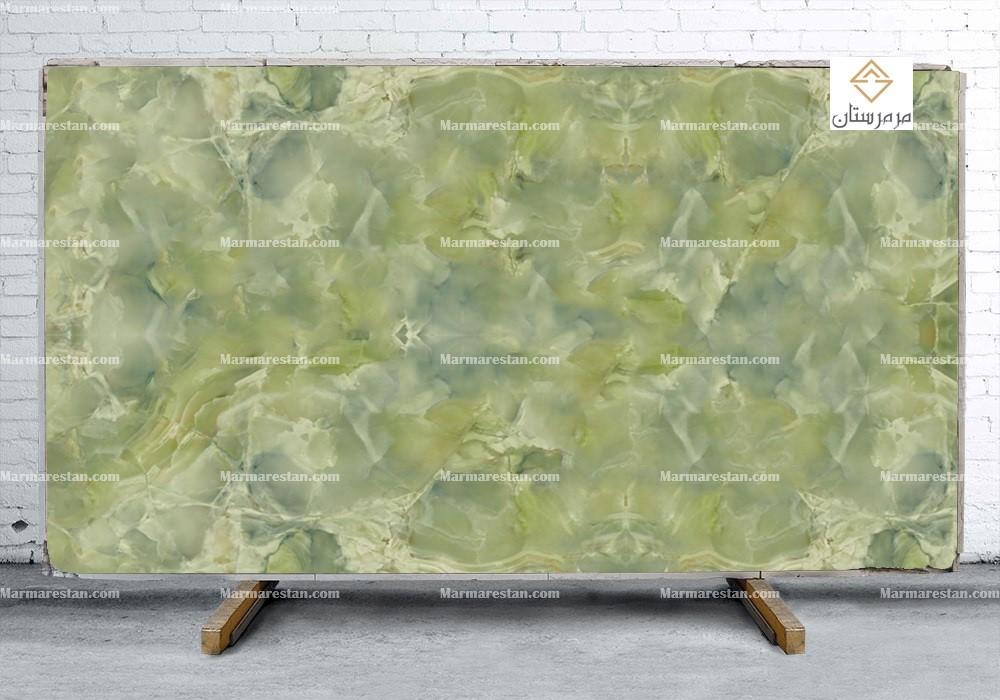 سنگ اسلب مرمر سبز